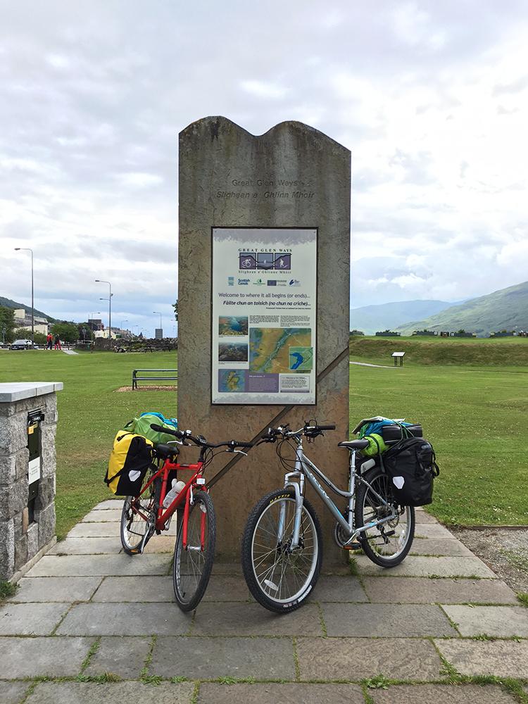 The Great Glen Way - Fort William