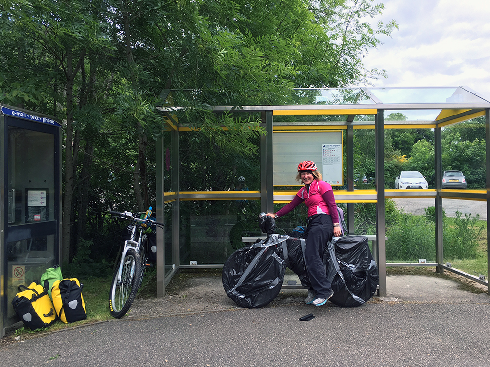 The Great Glen Way - Invermoriston Bus Stop