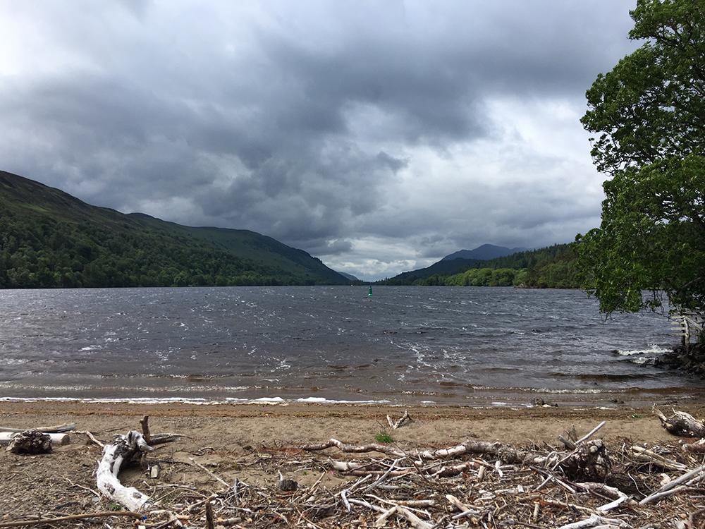 The Great Glen Way - Loch Oich