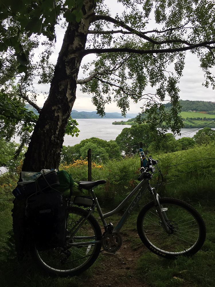 The Great Glen Way - Urquhart Castle and Loch Ness