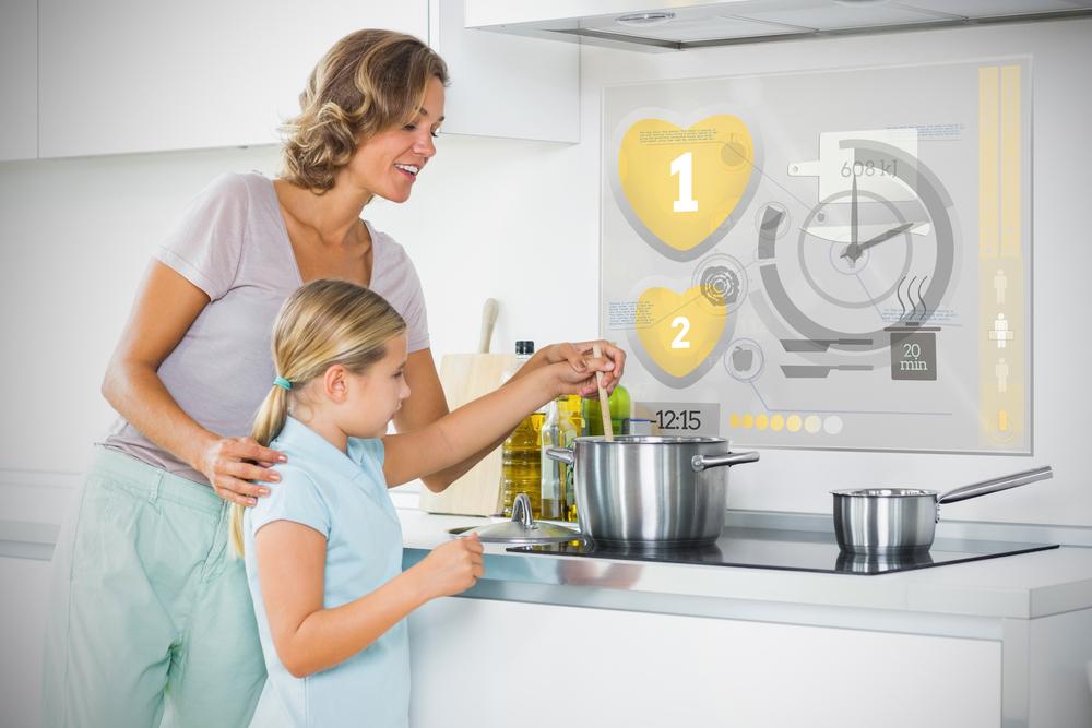 Futuristic Kitchen. Image via Shutterstock, copyright wavebreakmedia