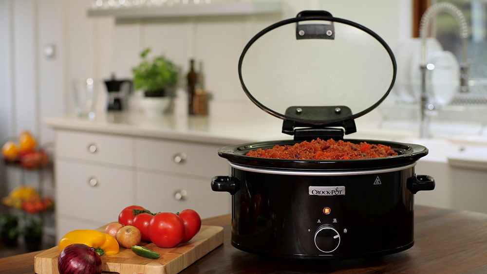 5.7 litre Crock Pot with Hinged Lid Giveaway