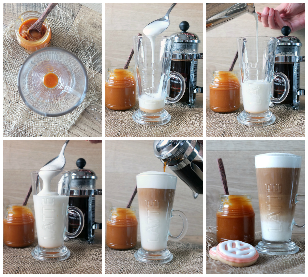 How to Make a Salted Caramel Latte
