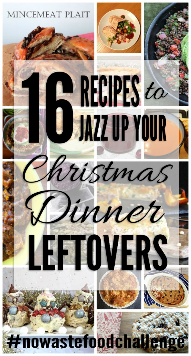 16 Recipes to Jazz up Your Christmas Dinner Leftovers - join us with the #nowastefoodchallenge