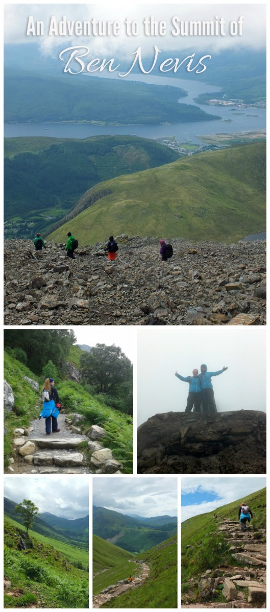 An Adventure to the Summit of Ben Nevis - The Climb