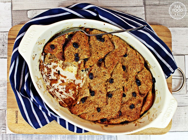 Bread and Butter Pudding by Fab Food 4 All