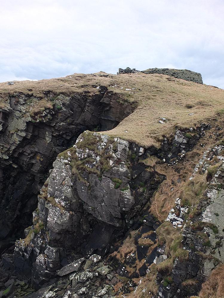 Broch of Burraland, Shetland Islands