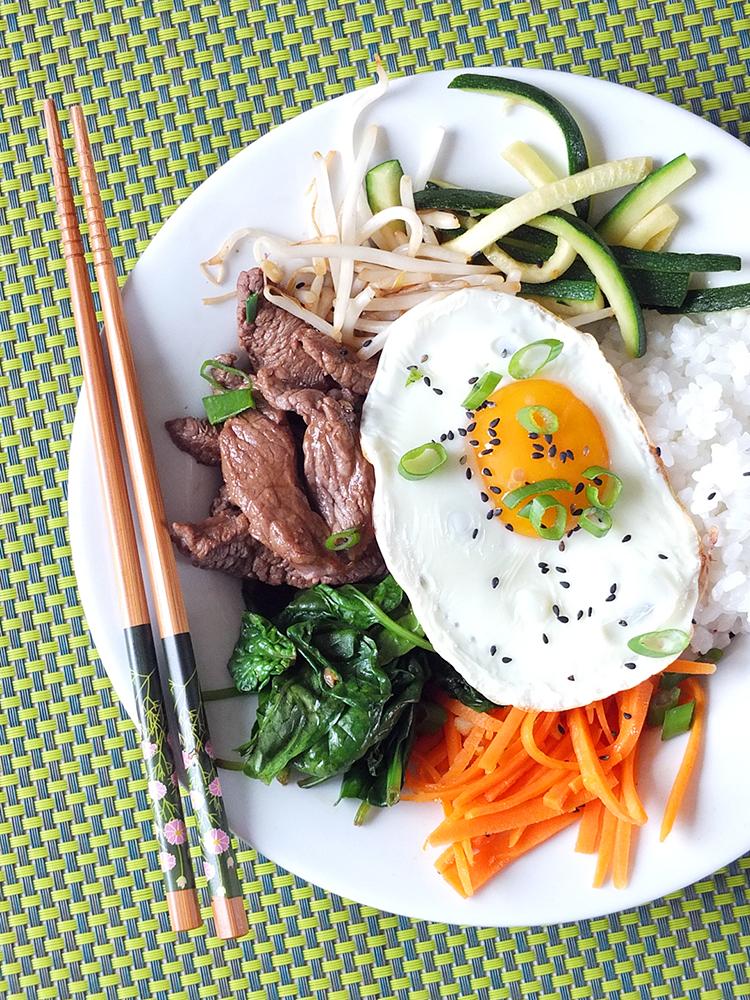 Korean Beef Bibimbap