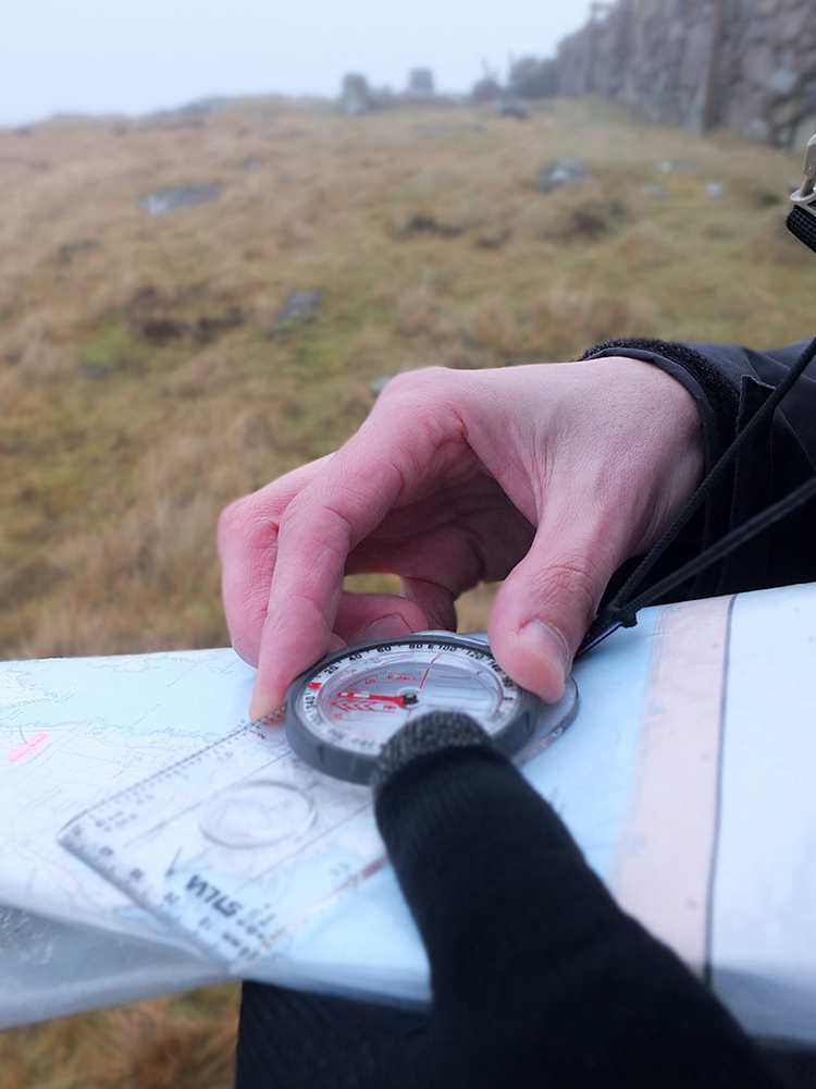 Orienteering with Map and Compass