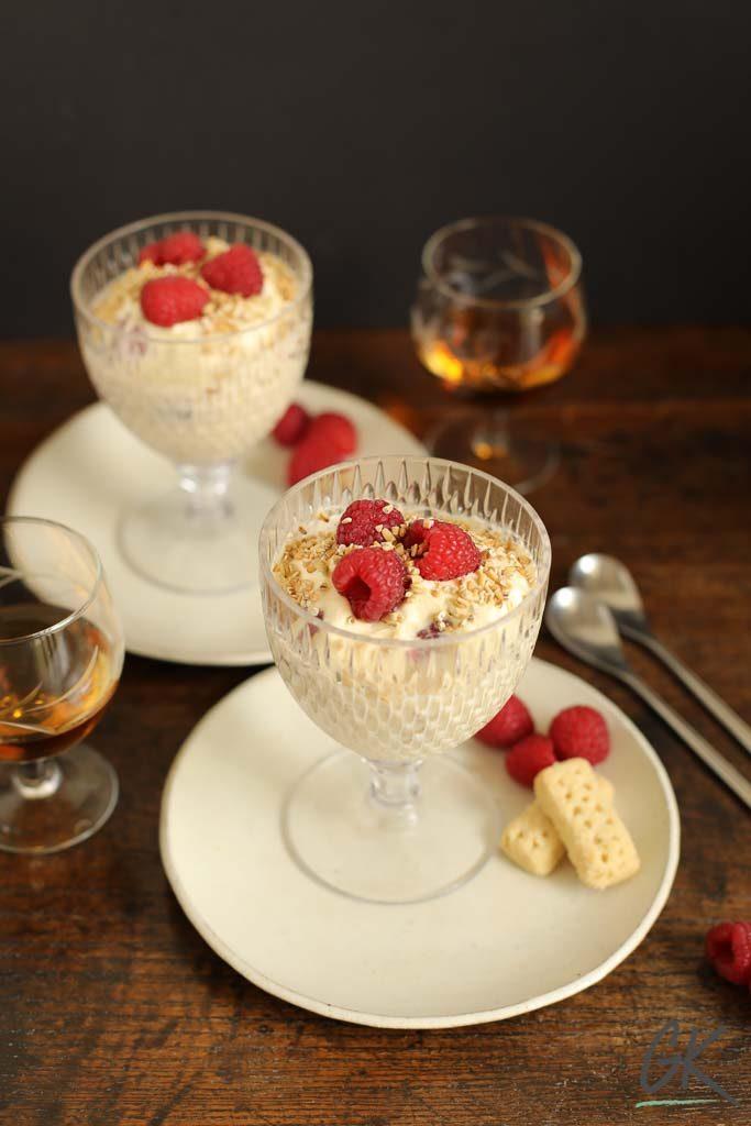 Raspberry Cranachan from Gillian's Kitchen