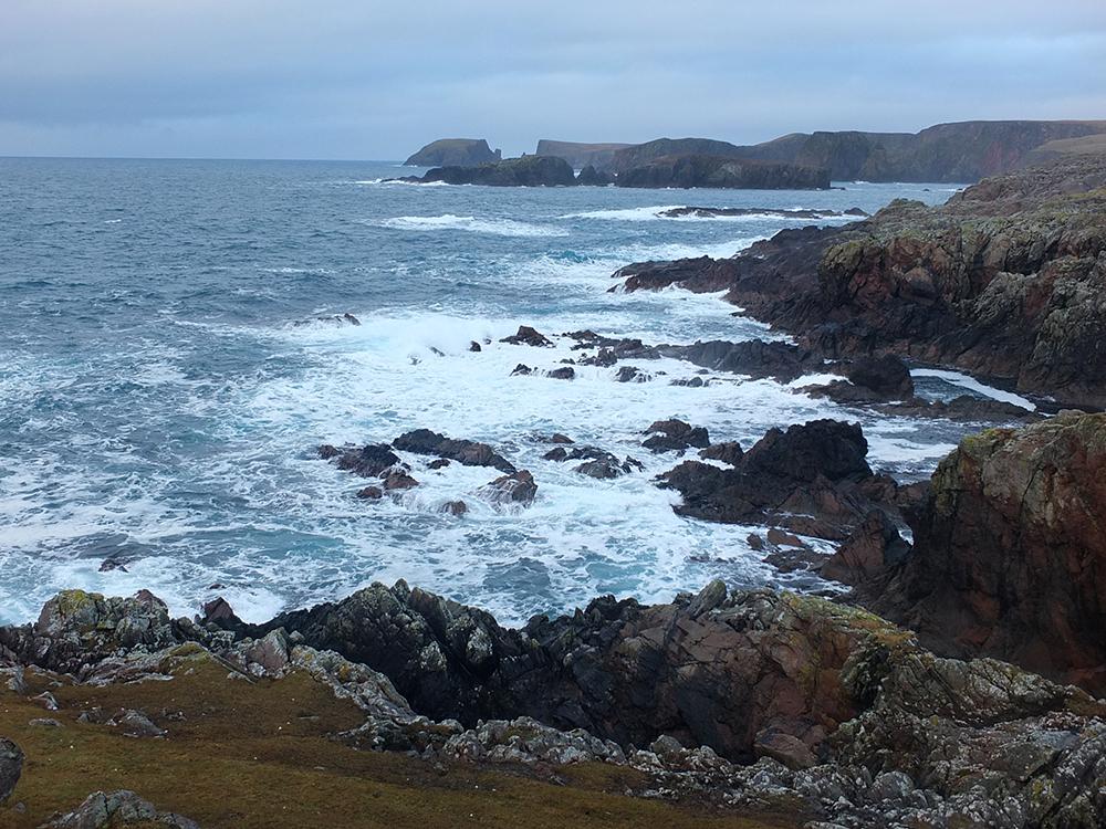 Silwick Coastline, Shetland