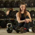 Woman in Gym by Samo Trebizan, image source Shutterstock