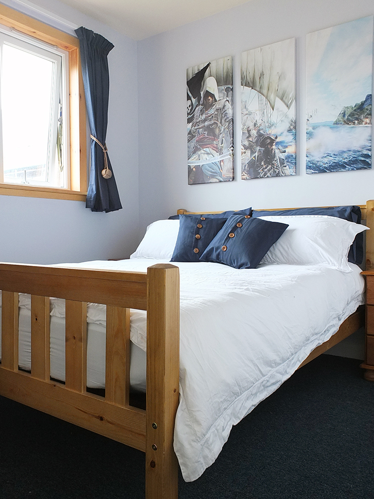 nautical bedroom makeover with emma mattress elizabeth 39 s