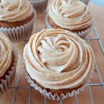 Chai Cupcakes with Spiced Buttercream by The Baking Explorer