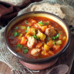 Chunky Vegetable and Sausage Soup