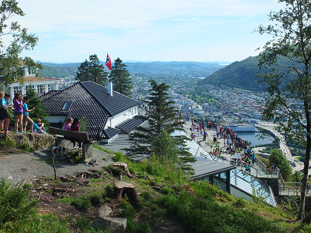 Mount Floyen Funicular