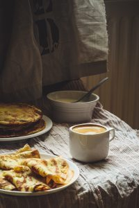 Pancakes by Alesia Berlezova via Shutterstock