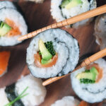 Smoked Salmon and Avocado Sushi {Recipe Video}