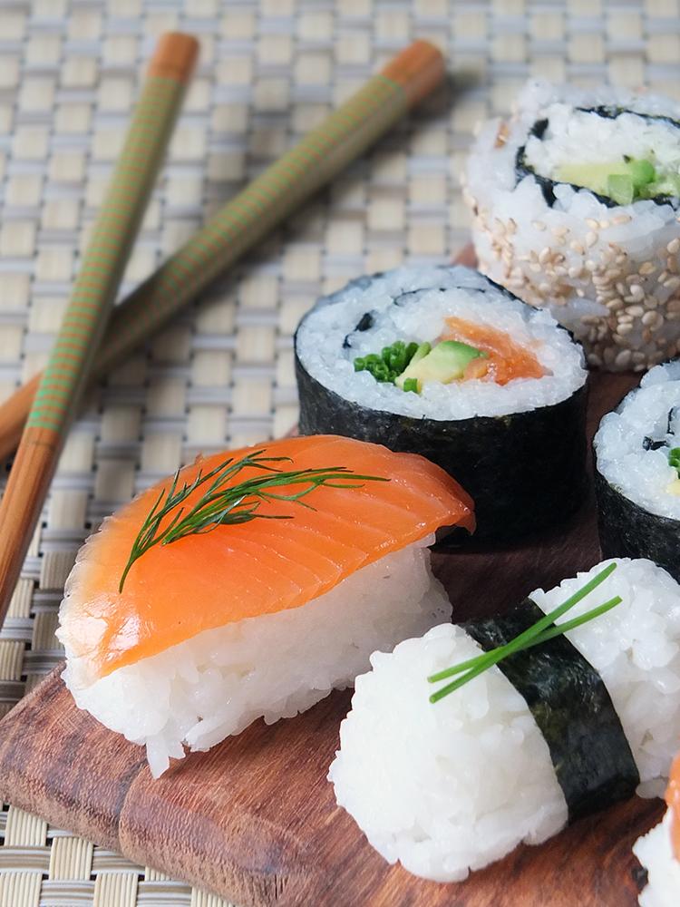 Sushi Platter - Japanese Food Culture & Ichigo Ichie