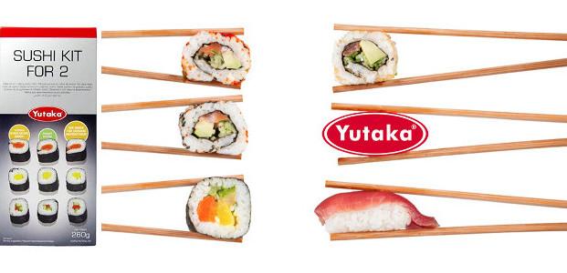 Yutaka Sushi Kit for Two Giveaway