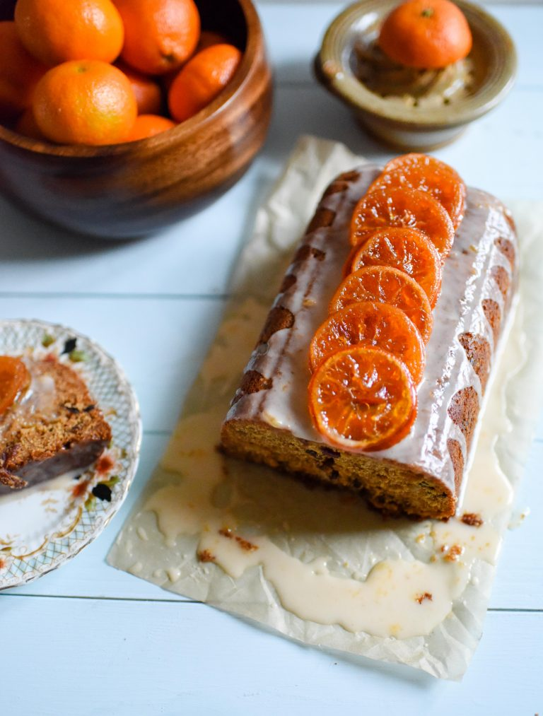 Clementine Mincemeat Drizzle Cake by Patisserie Makes Perfect