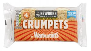 Gluten Free Crumpets from Newburn Bakehouse by Warburtons
