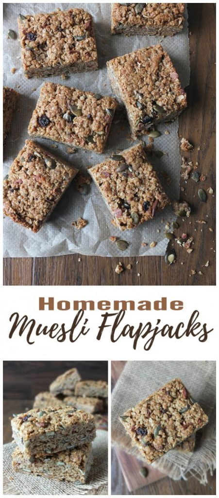 Homemade Muesli Flapjacks