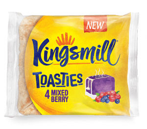 Kingsmill Toasties Mixed Berry