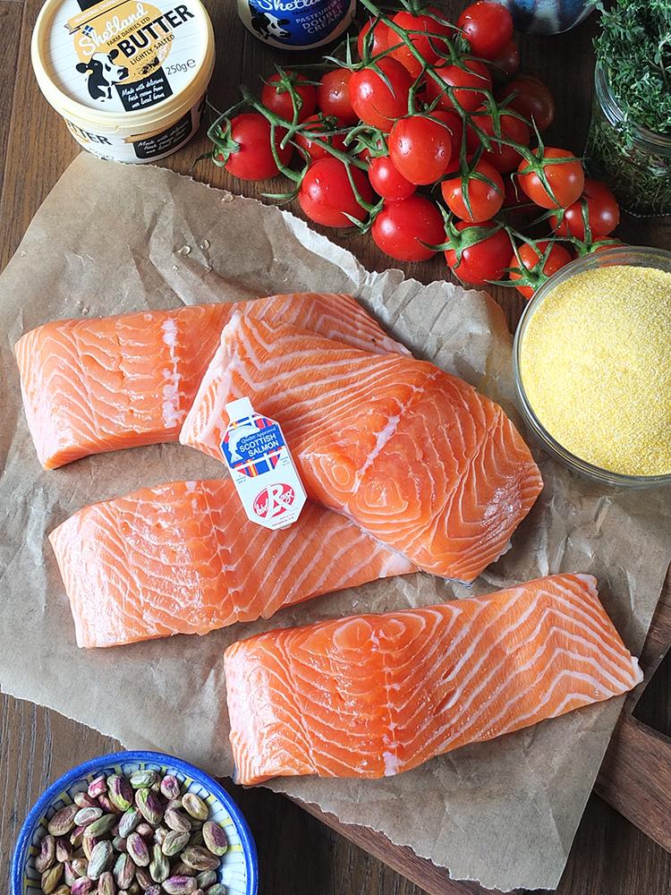 Scottish Salmon Blydoit Shetland