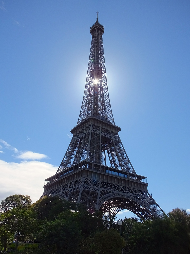The Eiffel Tower September 2015