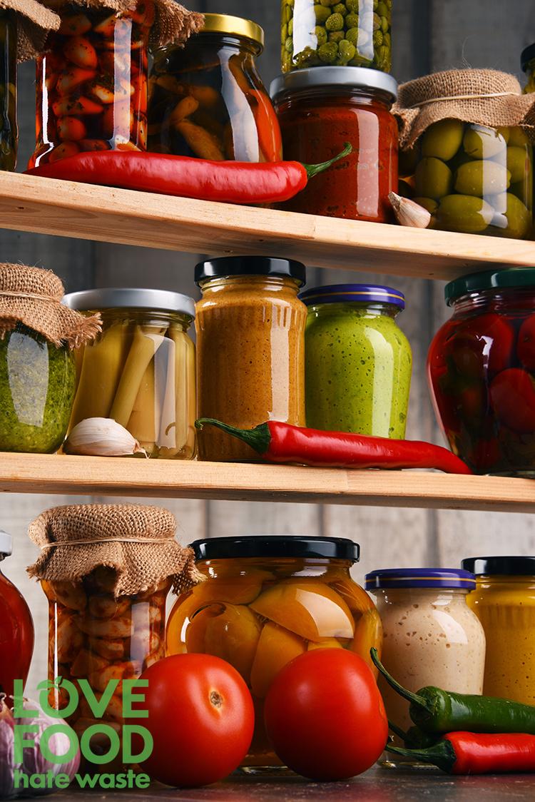 Food Storage Solutions - Love Food Hate Waste #giveupbinningfood