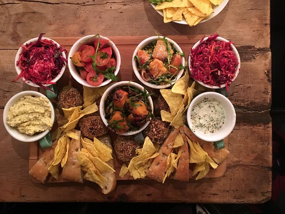 Food Story vegetarian sharing platter