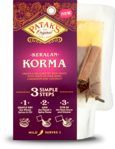 Patak's 3-step Korma kit