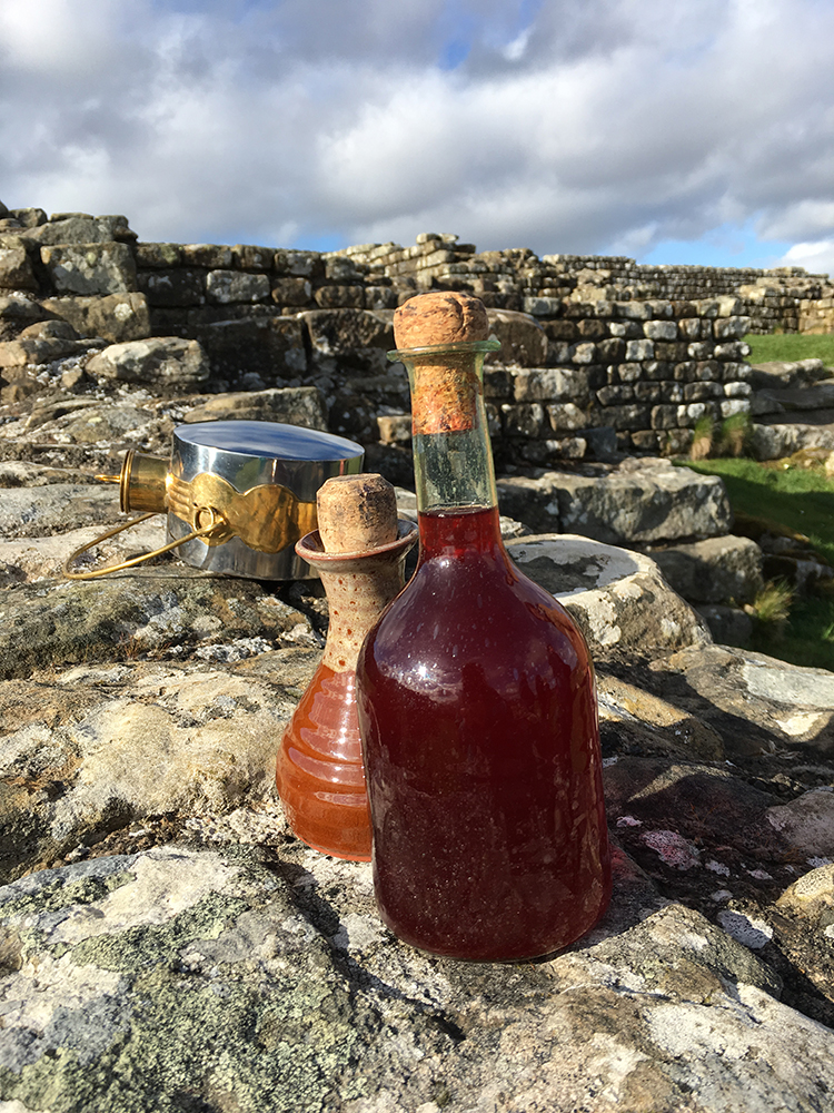Walking Hadrian's Wall - Garum and Wine
