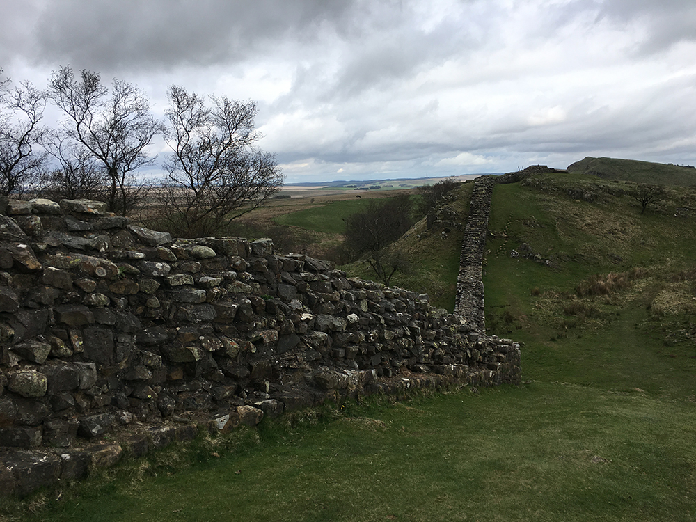 Walking Hadrian's Wall - Greenhead