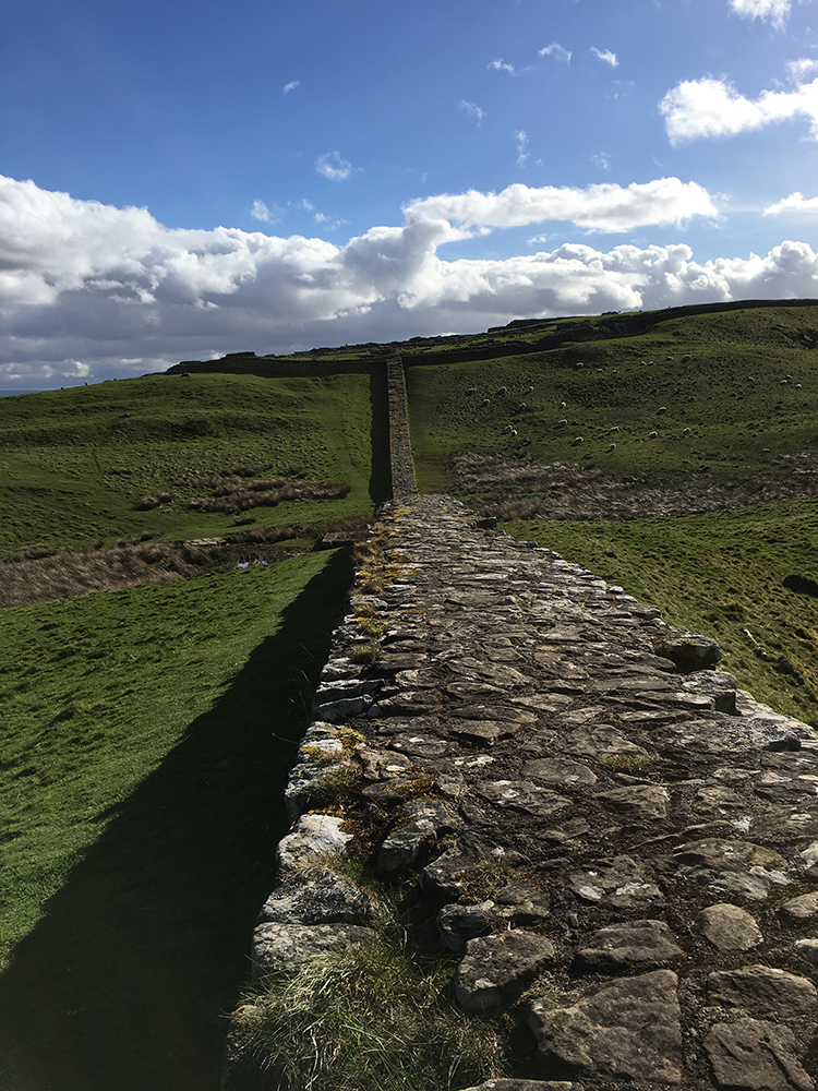 Walking Hadrian's Wall - Housesteads Fort