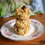 sweet potato feta and sauerkraut muffins