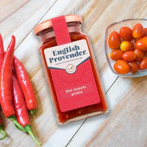 English Provender Hot Tomato Pickle