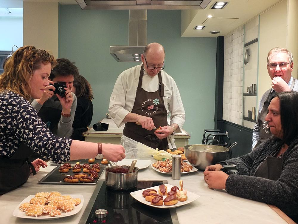 French Cooking Class - L'Atelier des Sens, Paris