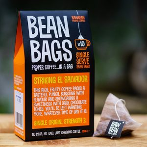 Raw Bean Coffee Co - Pyramid Coffee Bags