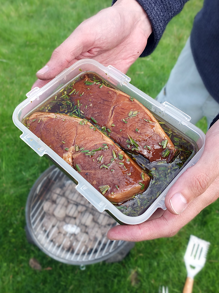 how to cook the perfect lamb leg steak