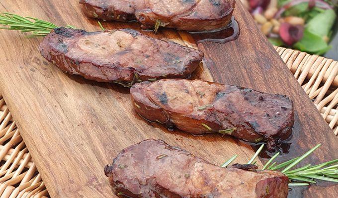 Lamb Leg Steaks in a Herb Marinade #RaiseTheSteaks