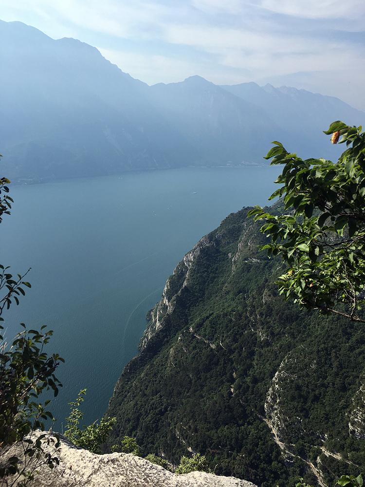 Cima Capi Via Ferrata, trekking in Lake Garda