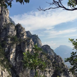 Cima Capi Via Ferrata, trekking in Lake Garda