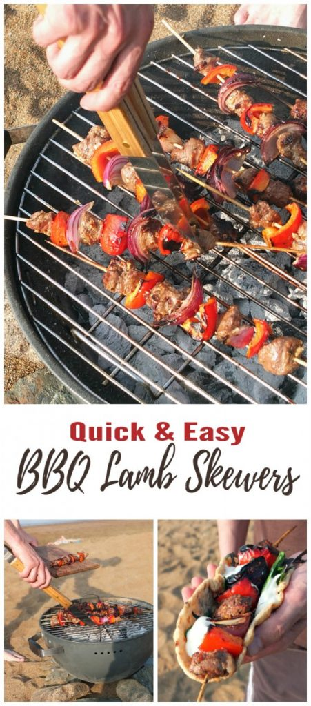 Quick and Easy BBQ Lamb Skewers