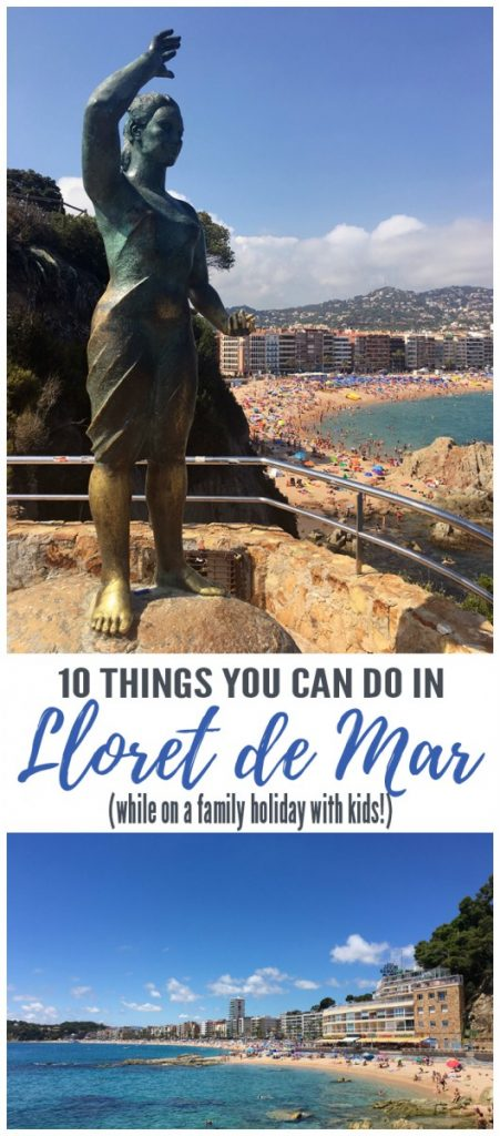 10 Things to do in Lloret de Mar with Kids