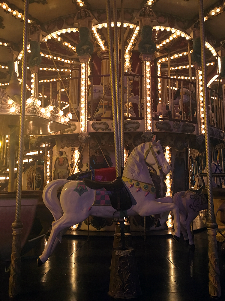 1900 Carousel in Lloret de Mar Spain