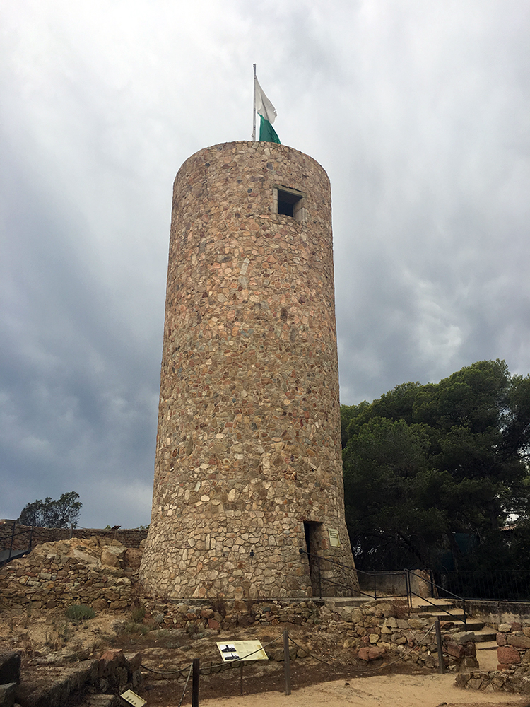 Castle of Sant Joan Lloret de Mar Spain