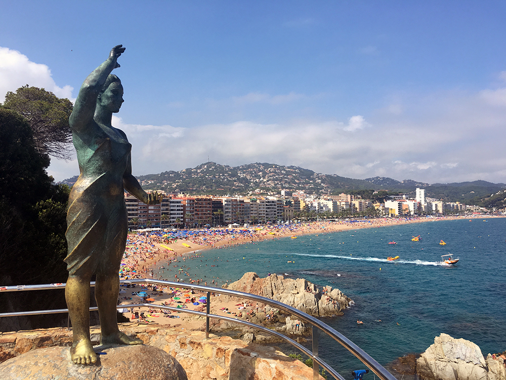 The Venus of Lloret de Mar Statue