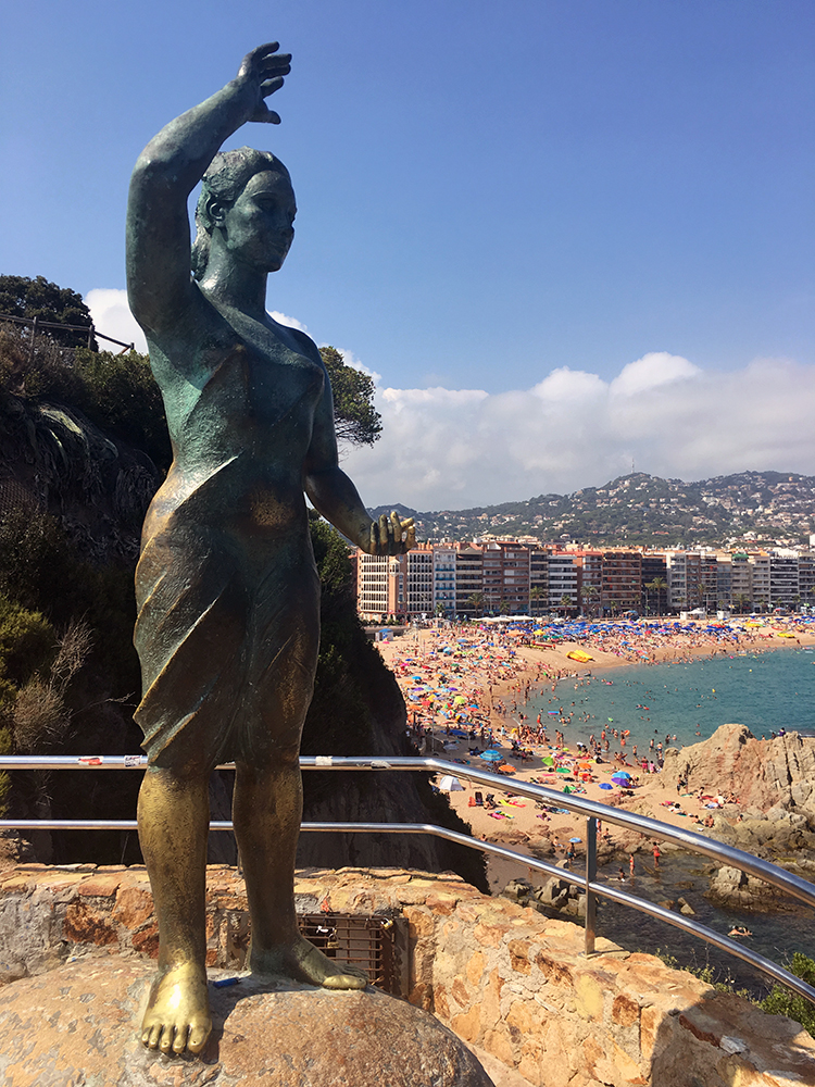 The Venus of Lloret Statue, Lloret de Mar, Spain